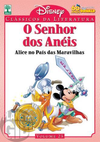 Clássicos da Literatura Disney nº 023 - out/10 - O Senhor dos Anéis