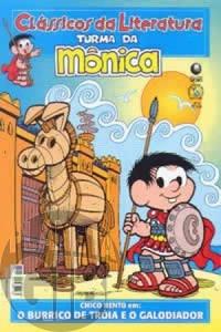 Clássicos da Literatura Turma da Mônica [Globo] nº 002 jan/2006 - Burrico de Troia