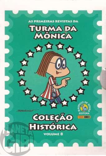 Coleção Histórica Turma da Mônica nº 008 nov/2008 - Box + 5 revistas