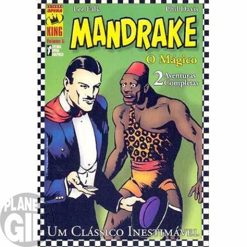 Coleção Opera King [Opera Graphica] nº 006 2002 - Mandrake O Mágico