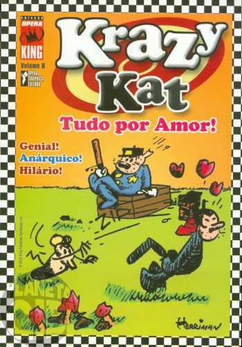 Coleção Opera King [Opera Graphica] nº 008 2003 - Krazy Kat