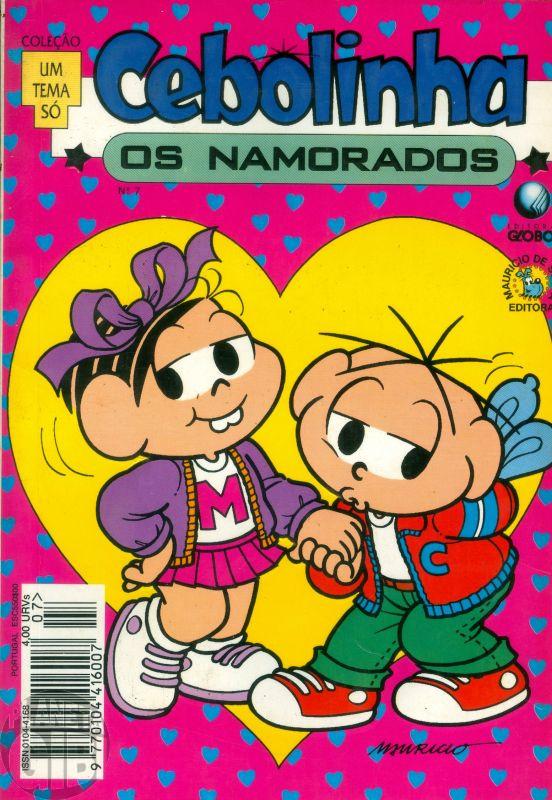 Coleção Um Tema Só [Globo] nº 007 jun/1994 - Cebolinha Os Namorados