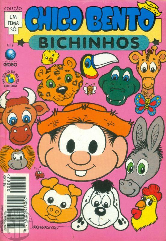 Coleção Um Tema Só [Globo] nº 008 set/1994 - Chico Bento Bichinhos