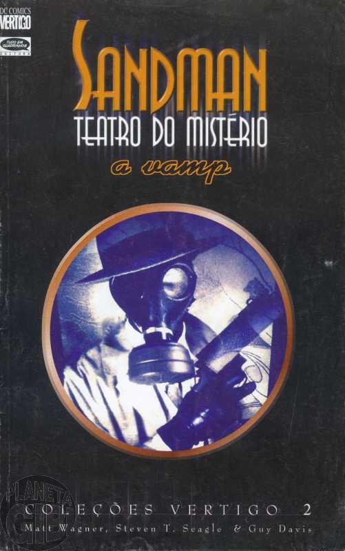 Coleções Vertigo [Encadernado] nº 002 abr/1999 Sandman Teatro do Mistério [Leia detalhes abaixo]