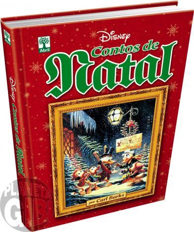 Contos de Natal Por Carl Barks [Disney de Luxo nº 006 - 1ª Edição] out/2015 - Capa Dura - Leia os detalhes abaixo
