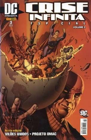 DC Apresenta [Panini 1ª série] nº 003 mai/2007 Crise Infinita Especial Volume 2
