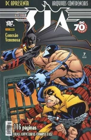 DC Apresenta [Panini 1ª série] nº 007 jan/2008 SJA Arquivos Confidenciais Conexão Venenosa