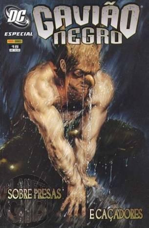 DC Especial [Panini - 1ª série] nº 015 set/2007 - Gavião Negro: Sobre Presas e Caçadores