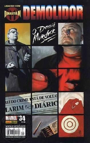Demolidor [Panini - 1ª série] nº 034 nov/2006