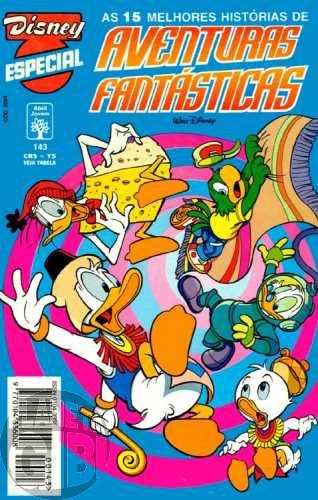Disney Especial nº 143 mai/1994 - Aventuras Fantásticas