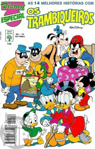 Disney Especial nº 144 jul/1994 - Os Trambiqueiros