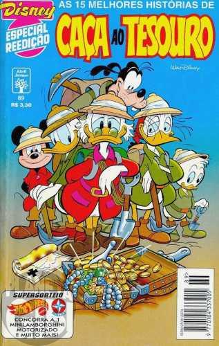 Disney Especial Reedição nº 089 dez/1995 - Caça ao Tesouro