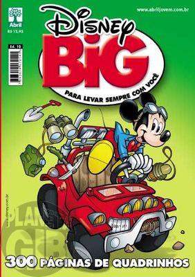 Disney Big nº 010 jul/2011 - Dobradinha Carl Barks - Don Rosa