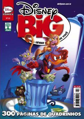 Disney Big nº 022 ago/2013 - A Origem do Morcego Vermelho