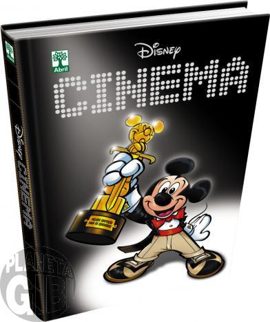 Disney Cinema [Disney de Luxo nº 007 - 1ª Edição] out/2015 - Capa Dura - Lacrado