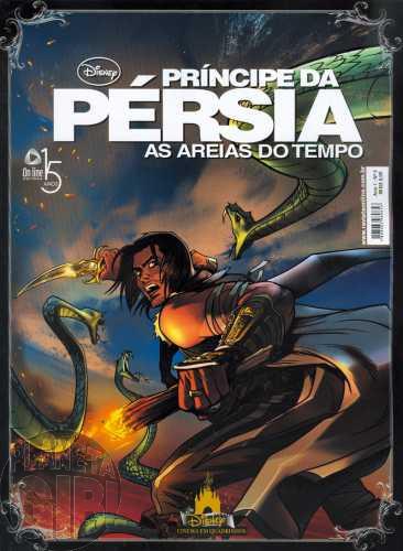 Disney Cinema em Quadrinhos [On Line] nº 003 jun/2010 - O Príncipe da Pérsia As Areias do Tempo
