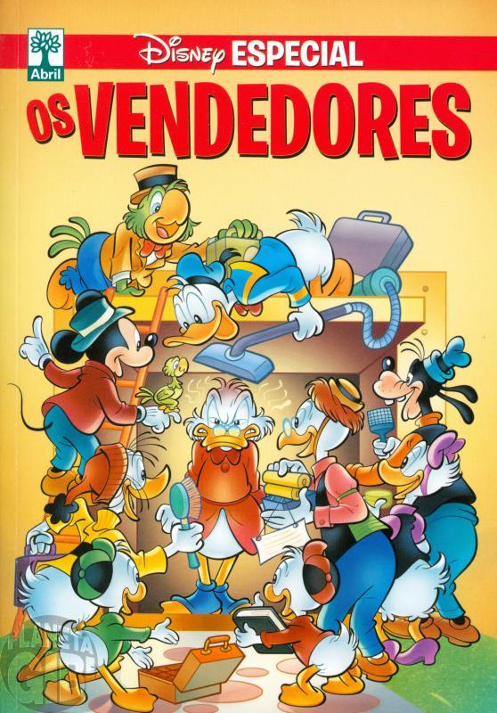 Disney Especial nº 199* jul/2017 - Os Vendedores