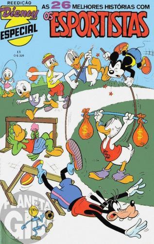 Disney Especial Reedição nº 013 dez/1982 - Os Esportistas - Vide Detalhes