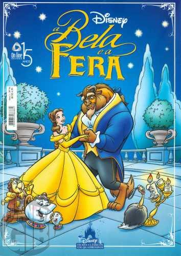 Disney Clássicos em Quadrinhos [On Line] nº 001 mai/2010 - A Bela e a Fera