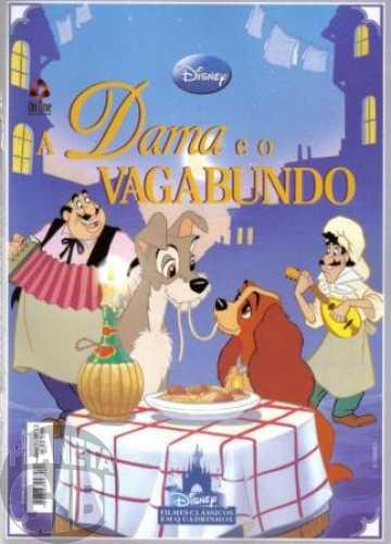 Disney Filmes Clássicos em Quadrinhos [On Line] nº 012 abr/2011 A Dama e o Vagabundo