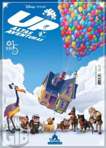 Disney Filmes em Quadrinhos [On Line] nº 005 set/2010 - Up Altas Aventuras