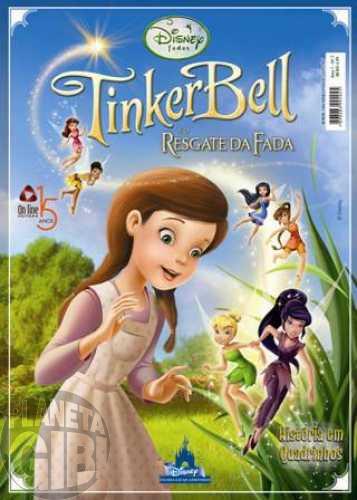 Disney Filmes em Quadrinhos [On Line] nº 007 out/2010 - Tinker Bell e o Resgate da Fada