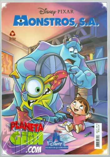 Disney Filmes em Quadrinhos [On Line] nº 013 abr/2011 - Monstros, S.A