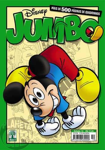 Disney Jumbo nº 010 jan/2015 - Darkwing Duck: O Candidato