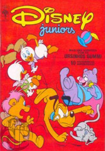 Disney Juniors nº 004 nov/1986 - A Nuvenzinha Teimosa