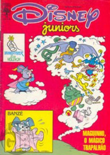 Disney Juniors nº 015 mai/1987 - O Mágico Trapalhão