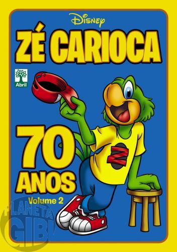 Disney Temático nº 012* nov/2012 - Zé Carioca 70 Anos - Volume 2