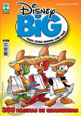 Disney Big nº 004 mar/2010 - Os Três Caballeros - Don Rosa