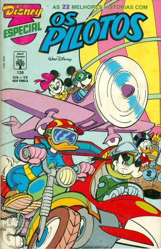 Disney Especial nº 139 jul/1993 - Os Pilotos