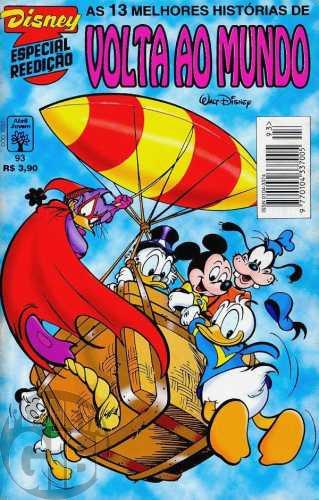 Disney Especial Reedição nº 093 ago/1996 - Volta ao Mundo
