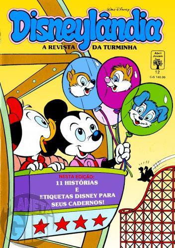 Disneylândia [2ª série] nº 012 fev/1991 - Biquinho: Amigo Imaginário