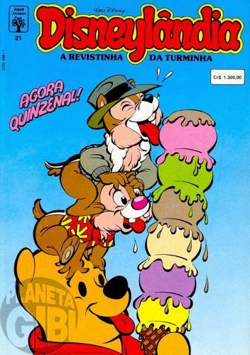 Disneylândia [2ª série] nº 021 abr/1992 - Na Terra dos Índios
