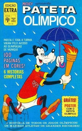 Edição Extra nº 052 ago/1972 - Pateta Olímpico