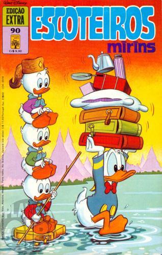 Edição Extra nº 090 dez/1978 - Escoteiros Mirins - Vide detalhes