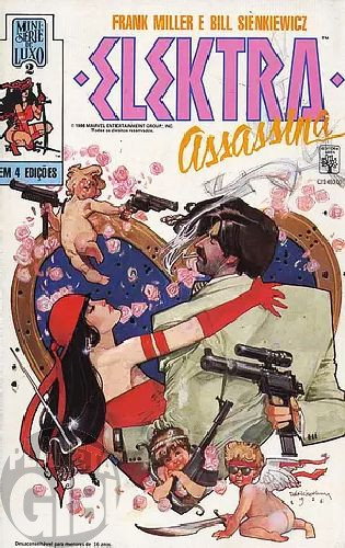 Elektra Assassina [Abril - Minissérie] nº 001 a 004 ago-nov/1988