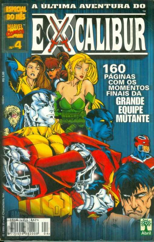 Especial do Mês [Abril] nº 004 nov/1999 - A Última Aventura do Excalibur