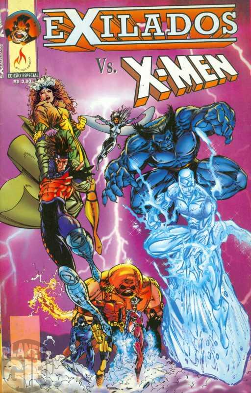 Exilados Vs. X-Men [Mythos] 1998 - Leia os detalhes abaixo