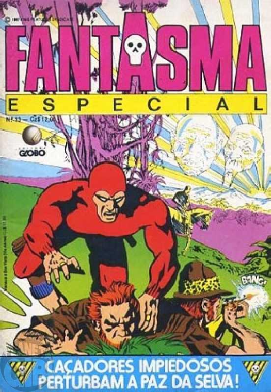 Fantasma Especial [Globo - 2ª série] nº 013 jul/1987 - Vide detalhes