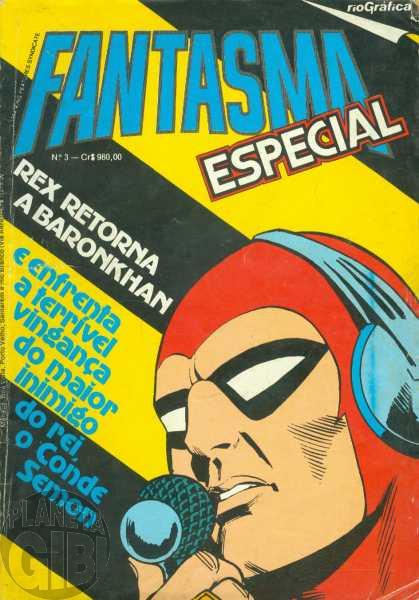 Fantasma Especial [RGE - 2ª série] nº 003 jun/1984