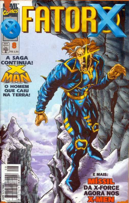 Fator X [Abril] nº 008 out/1997