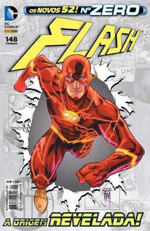 Flash [Panini - 1s] nº 000 jun/2013 - Os Novos 52 - A Origem Revelada