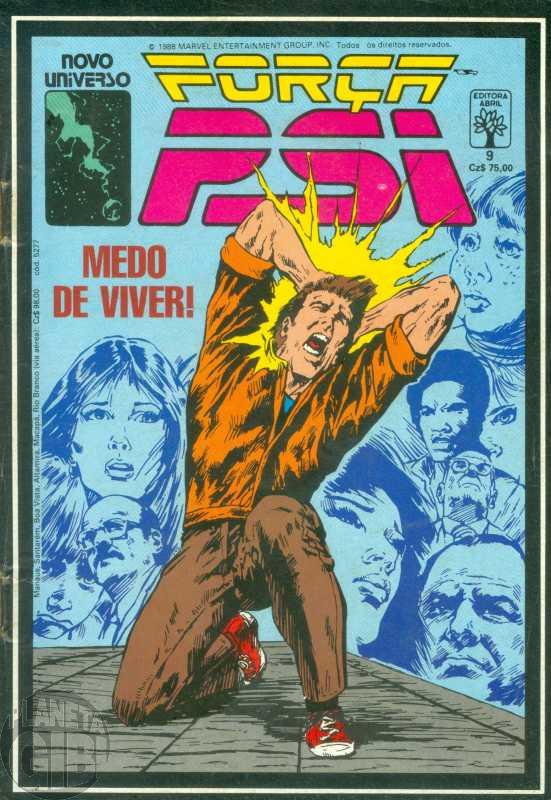 Força Psi [Abril] nº 009 mar/1988 - Medo de Viver!