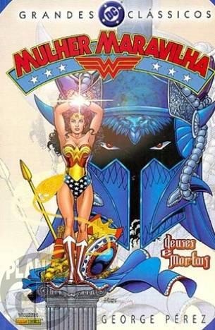 Grandes Clássicos DC [Panini - 1ª série] nº 002 mai/2005 - Mulher Maravilha Volume 1