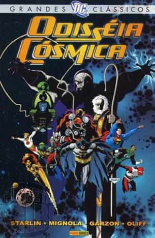 Grandes Clássicos DC [Panini - 1ª série] nº 012 nov/2007 - Odisseia Cósmica