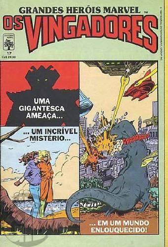Grandes Heróis Marvel [Abril - 1s] nº 017 set/1987 - Os Vingadores