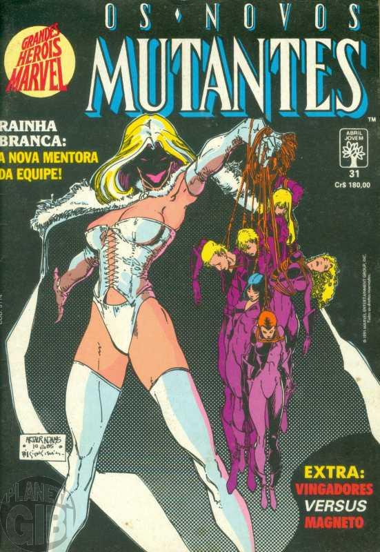 Grandes Heróis Marvel [Abril - 1s] nº 031 mar/1991 - Os Novos Mutantes